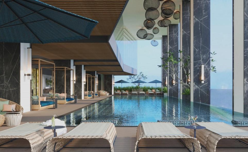 Bể bơi vô cực tại FLC City Hotel Beach Quy Nhơn