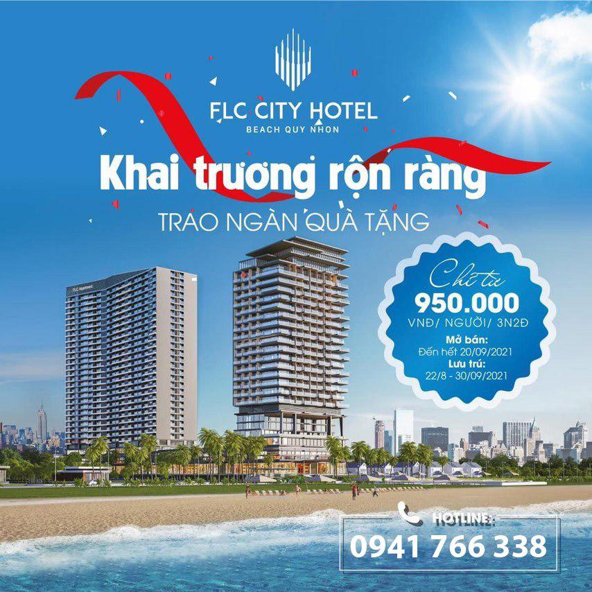 FLC City Hotel Beach Quy Nhơn ưu đãi mừng khai trương