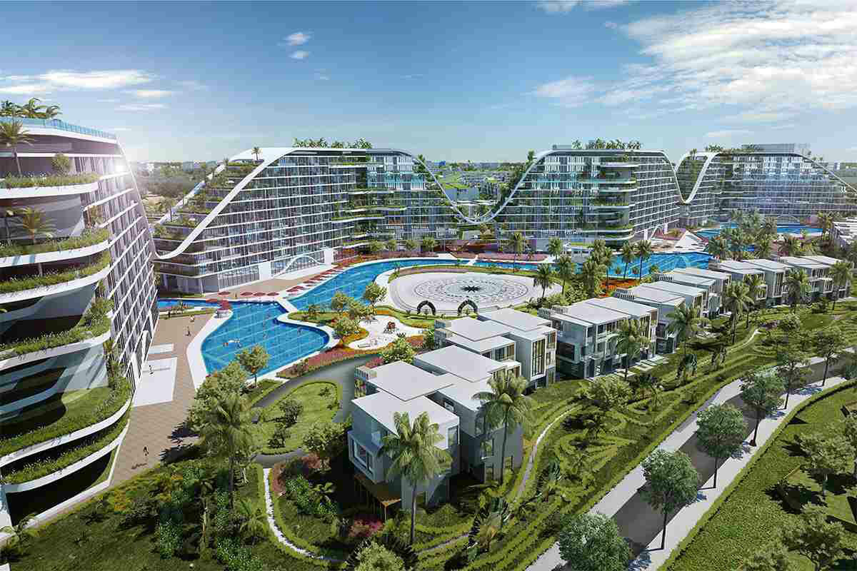 Hồ bơi vô cực dài 1km tại FLC Grand Hotel Quy Nhơn