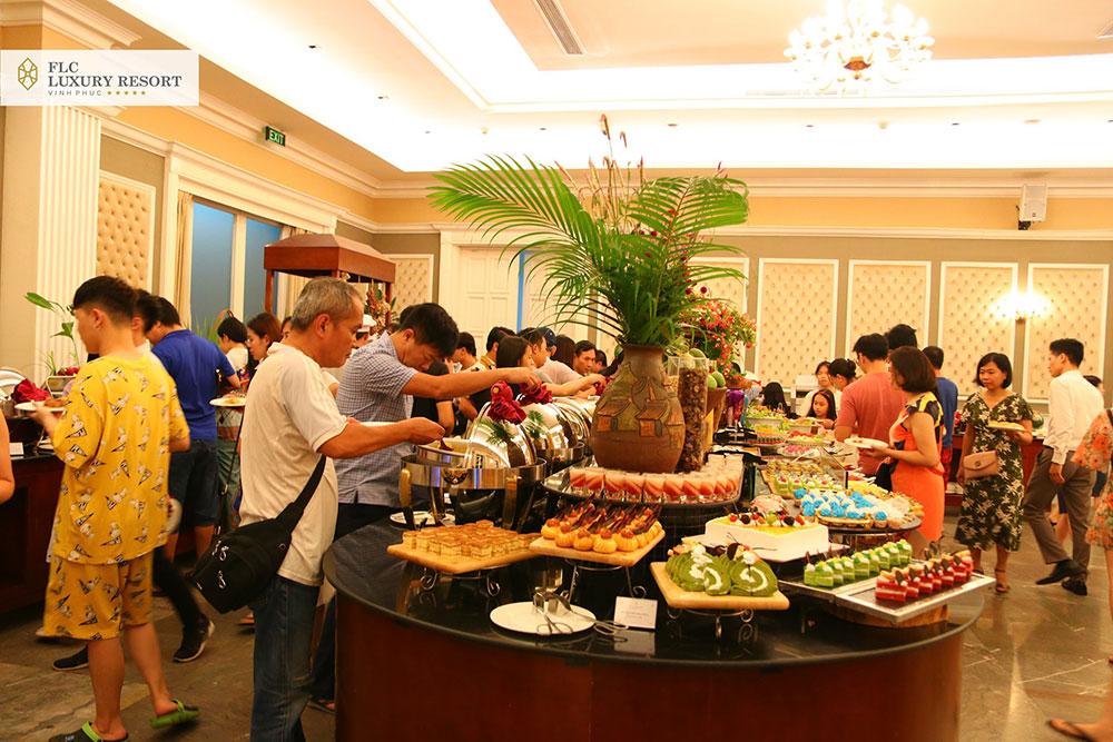 Tiệc tại FLC Vĩnh Phúc Resort
