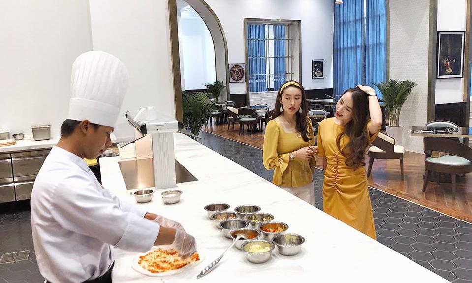 Nhà hàng ẩm thực của VinOasis Phú Quốc