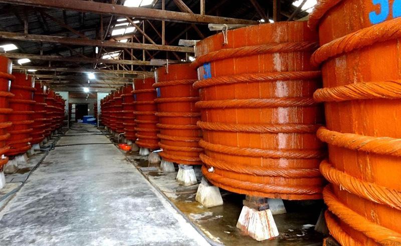 Nhà máy sản xuất nước mắm phú quốc